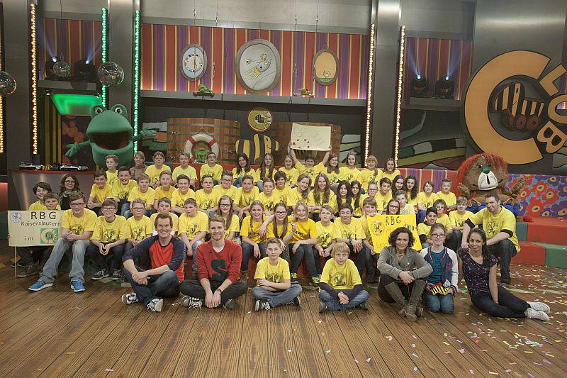 Die Klasse 6b des Gymnasiums am Rittersberg im Tigerenten Club