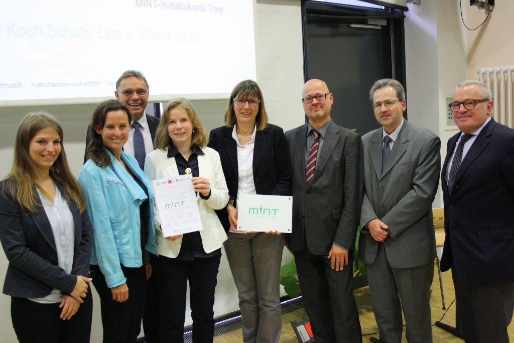 """Rittersberg erneut als eine von 34 """"MINT-freundlichen Schulen"""" geehrt"""