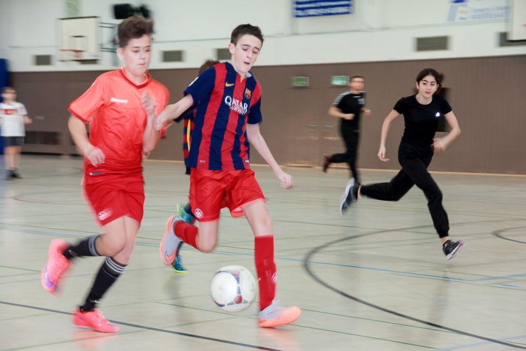 Fußballturnier der Mittelstufe: Sieger erst nach Elfmeterschießen