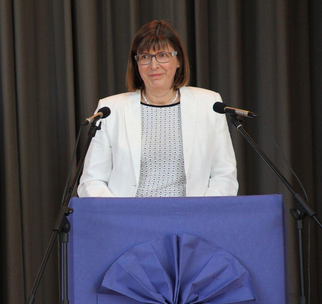Offizielle Amtseinführung der neuen Schulleiterin
