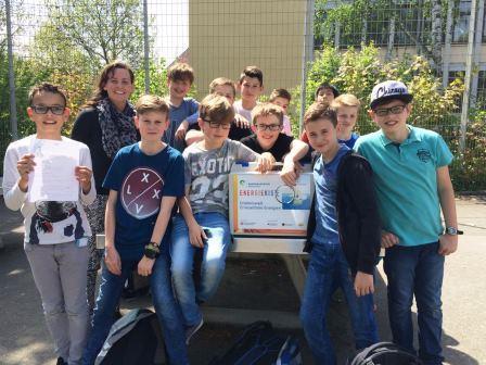 """Energieagentur Rheinland-Pfalz leiht """"Energiekoste"""" für MINT-Schwerpunkt"""