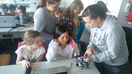 MINT-Workshop 6.Klasse Robotik
