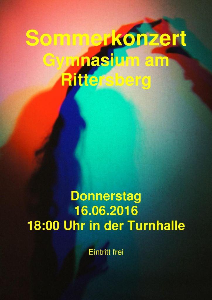 Sommerkonzert am 16.06.2016