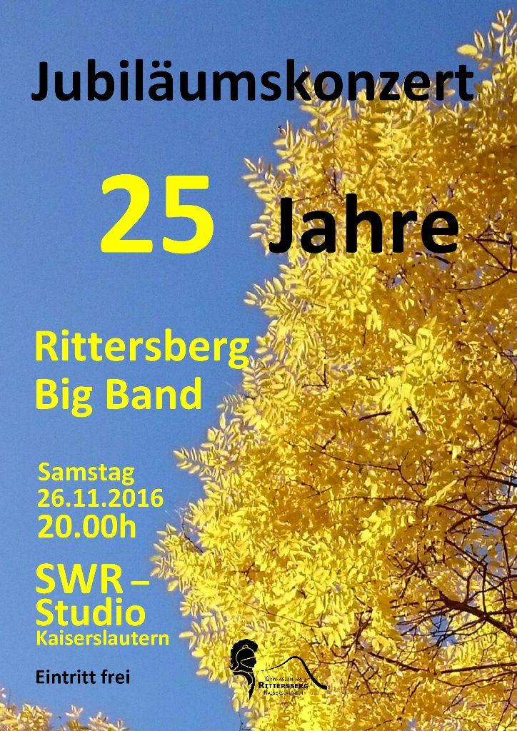 Jubiläumskonzert 25 Jahre Rittersberg Big Band
