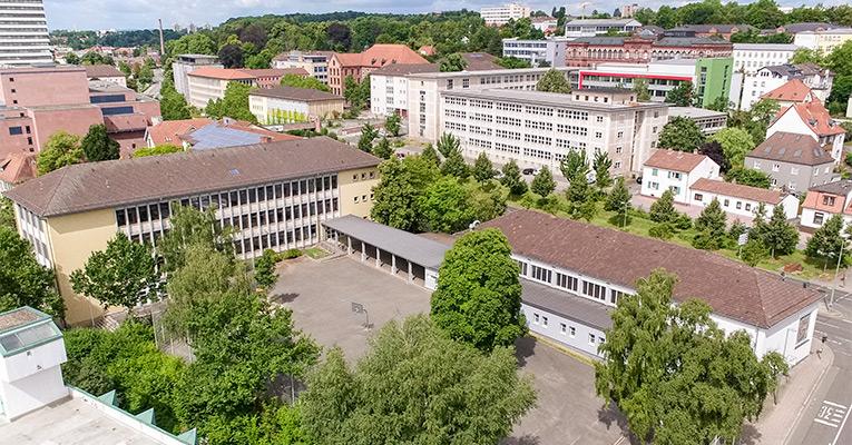 Rittersberg Luftbild Innenhof