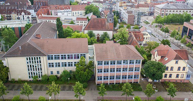 Rittersberg Luftbild Ludwigstraße