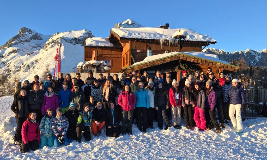 Wintersportwochen nach Werfenweng mit den 9. Klassen