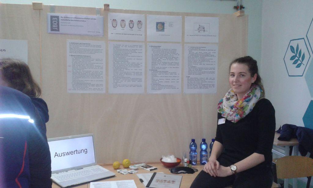 """3. Platz bei """"Jugend forscht"""" für Eva Gotzhein"""