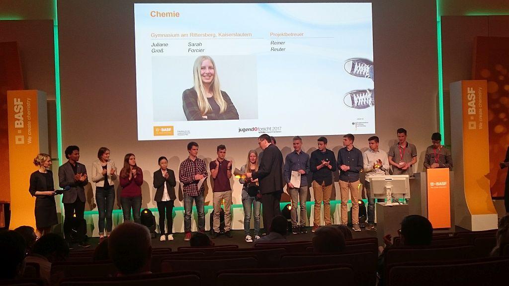 Jugend forscht Juliane Groß 2017