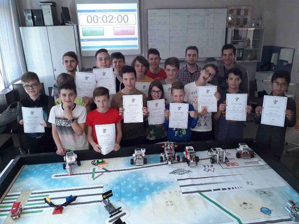 Wettbewerb der Robotics AG