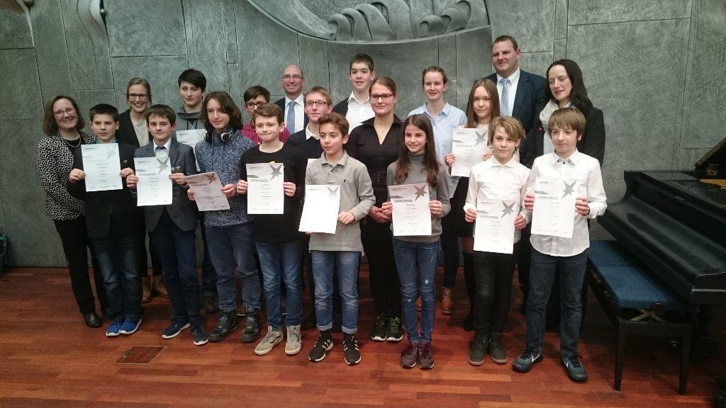Erster Preis bei Jugend forscht für Lina Koch MSS 13