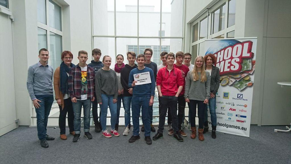 Team Rittersberg spielt beim SCHOOLGAMES FINALE DEUTSCHLAND