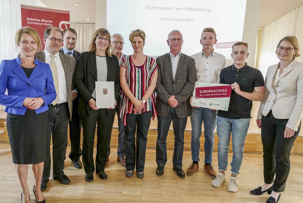 "Rittersberg wird ""Europaschule"""