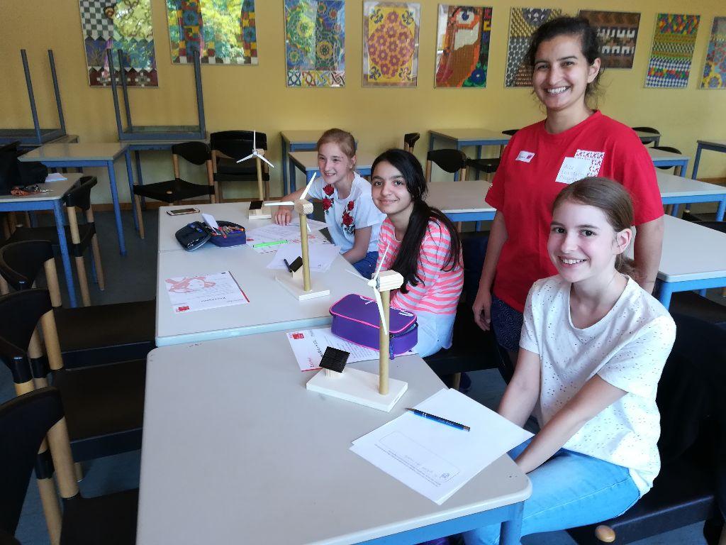 "MINT-Workshop ""Erneuerbare Energien"" der 7. Klassen"