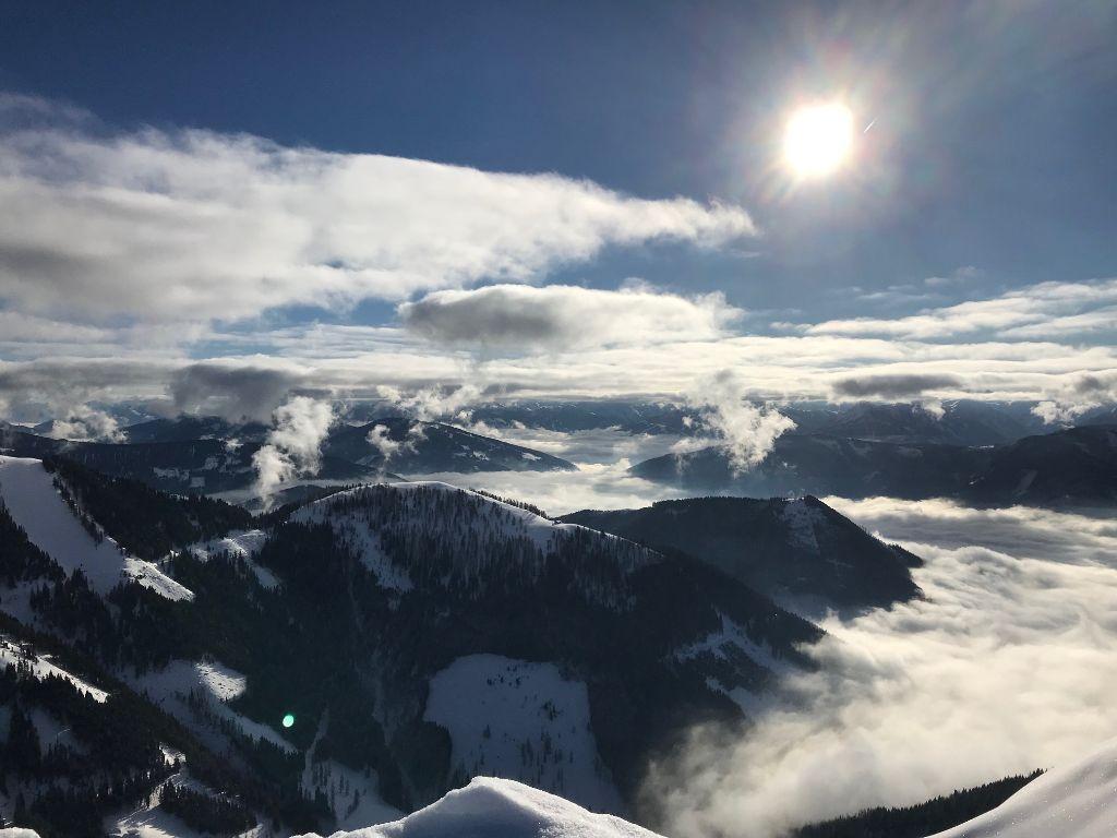 Wintersportwochen in Werfenweng: gereimte Skischwünge
