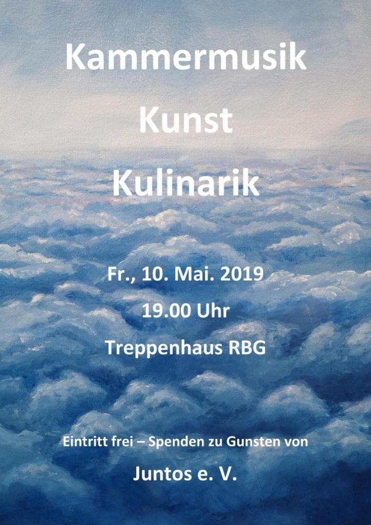 Kammermusik, Kunst und Kulinarik 2019
