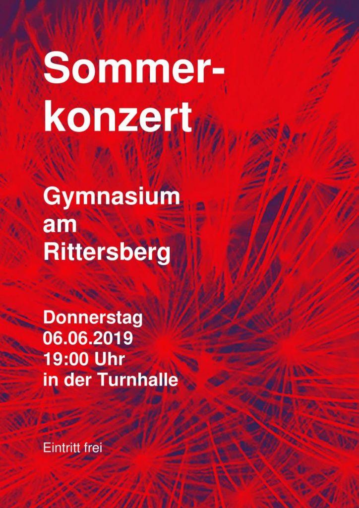 Sommerkonzert  am 06.06.2019