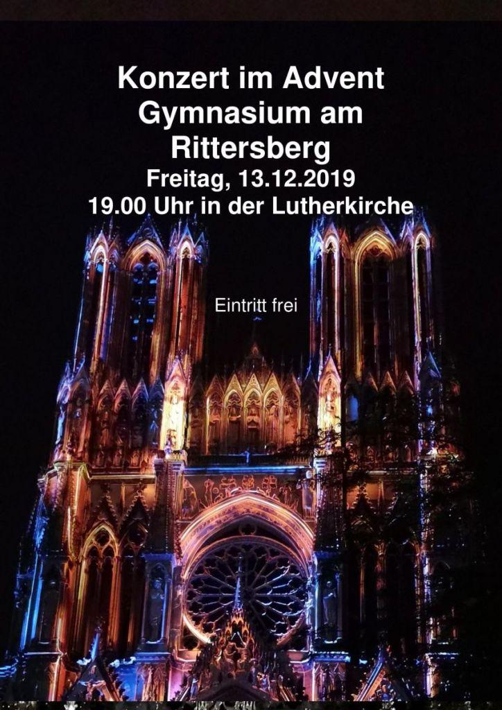 Konzert im Advent in der Lutherkirche