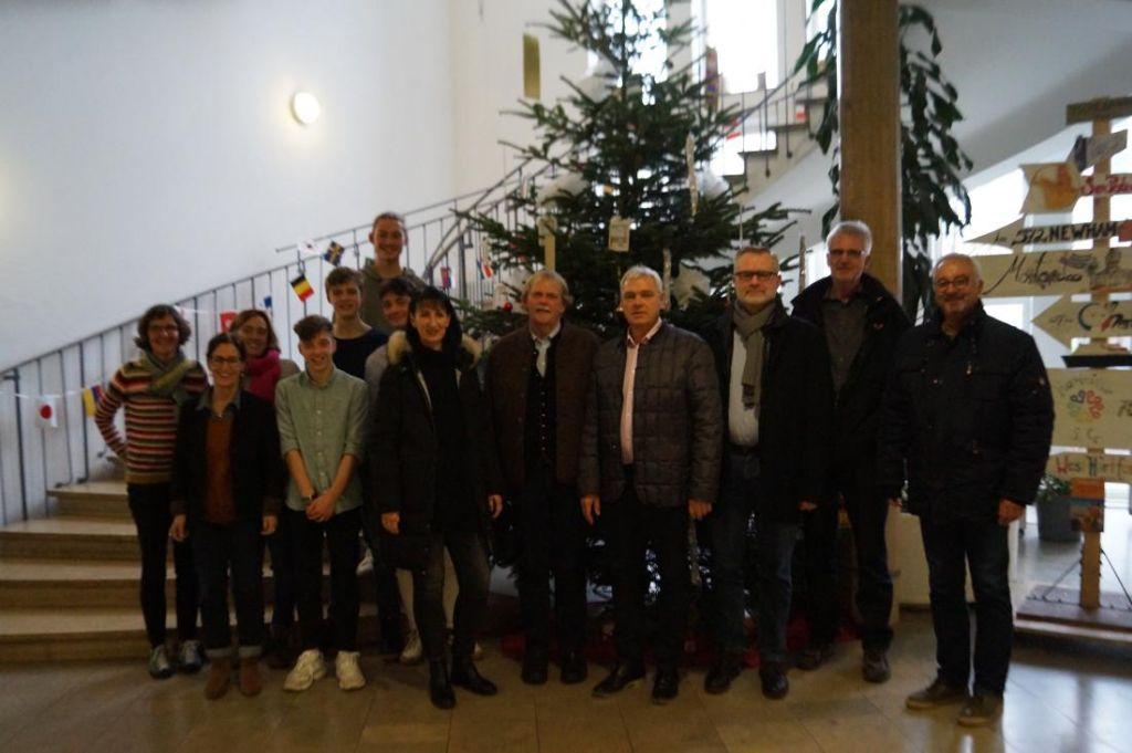 Vertreter der Bau- AG zu Gast bei RBGreen